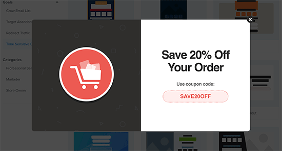 Promoting your coupon URL in WooCommerce